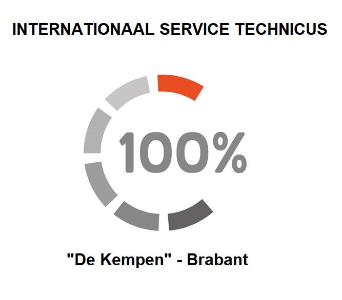 Vacature voor een Internationaal Service Technicus