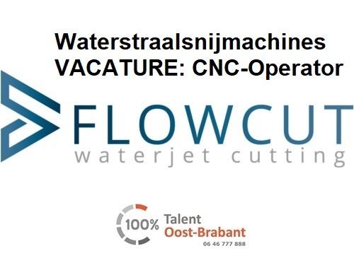 Vacature voor een CNC-operator waterstraalsnijmachines in Weert