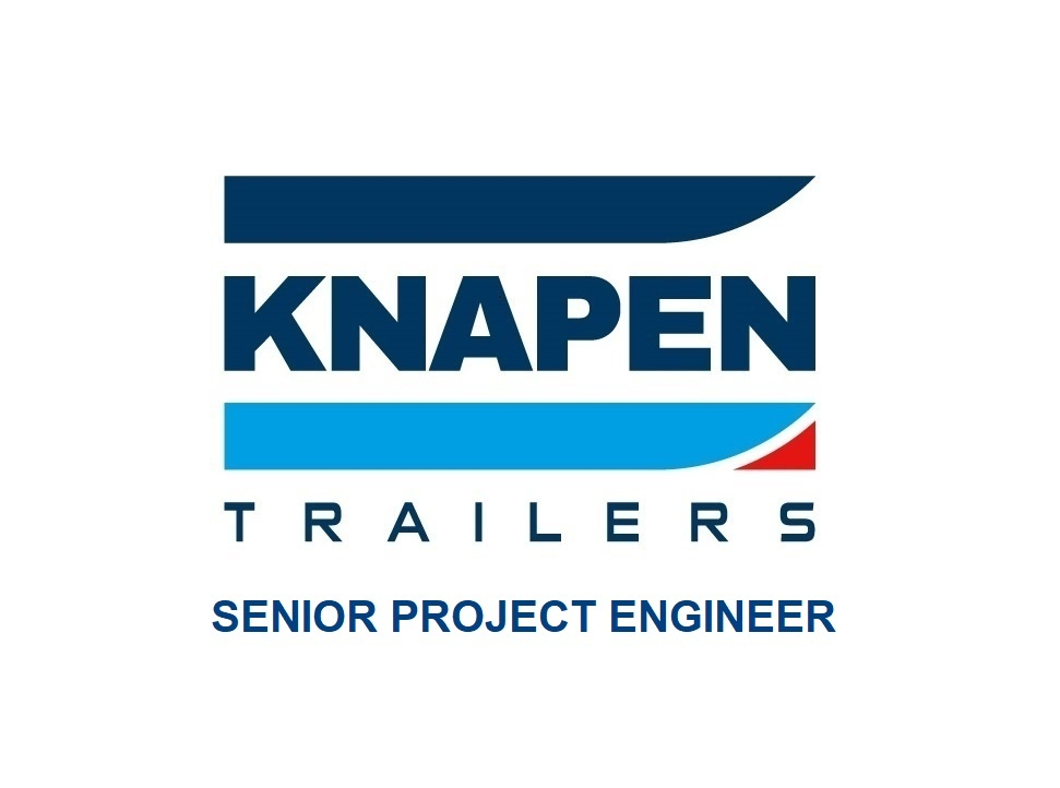 Vacature bij Knapen Trailers voor een Senior Project Engineer in Deurne