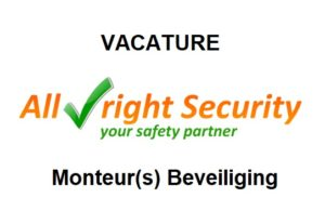 vacature monteurs beveiliging All-Right Security