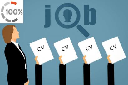 Talenten gaan op zoek naar nieuwe baan