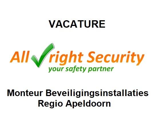 vacature voor monteur beveiliging in de regio Apeldoorn