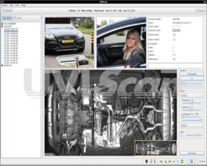 uviscan, scannen onder de auto