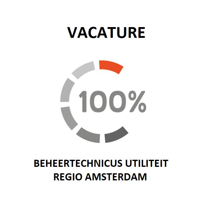 vacature voor een beheertechnicus utiliteit in de regio amsterdam