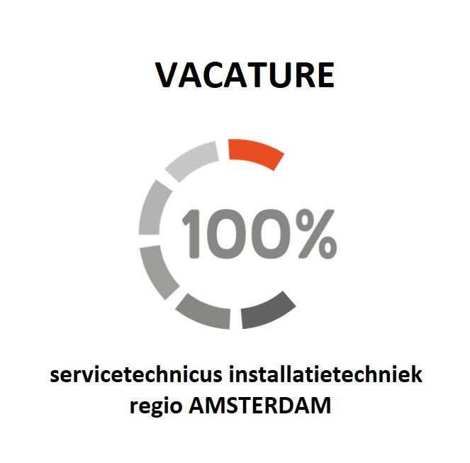 vacature voor een servicetechnicus installatietechniek in de regio Amsterdam