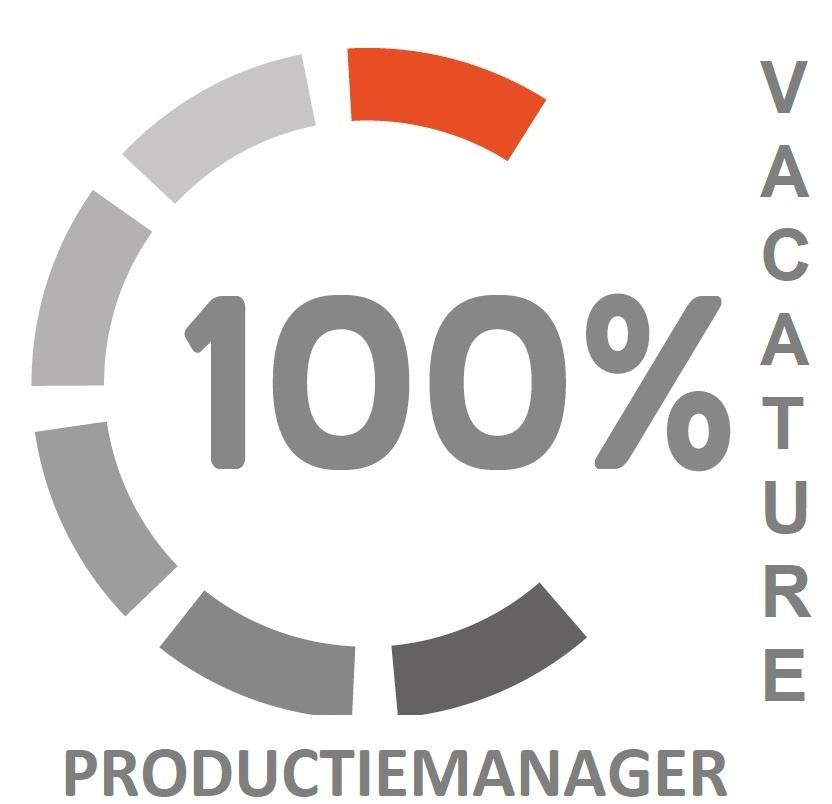 vacature voor een productiemanager