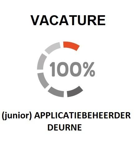 vacature voor een junior-applicatiebeheerder