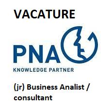 vacature voor een junior business analist / consultant