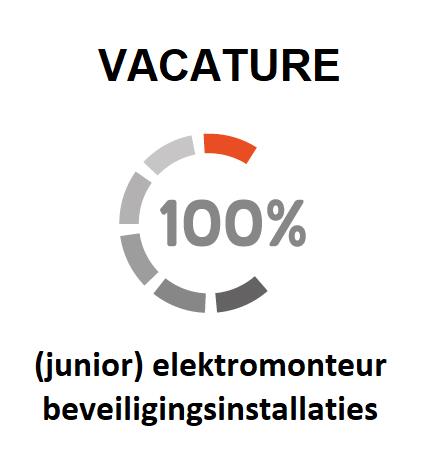 vacature voor een junior elektromonteur