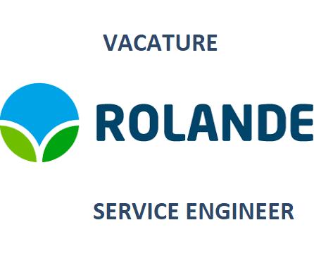vacature service engineer bij Rolande
